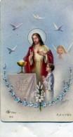 IMAGE RELIGIEUSE COMMUNION SOLENNELLE INSTITUTION ST LOUIS LORIENT 31 MAI 1956 - Images Religieuses