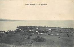 Pays Divers- Ref E318- Papouasie -guinée- Port Leon - Vue Generale -carte Bon Etat - - Papua Nuova Guinea