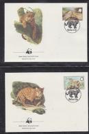 Belize 1983  WWF /  Jaguar  4v 4 FDC (W683) - W.W.F.