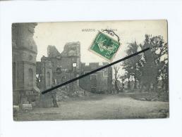 CPA - Moreuil  - Le Château - Moreuil