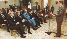 16357. Postal United States, President REAGAN, Adresses Senate Republicas 1981 - Personajes