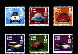 ISLE OF MAN - 2006  PEEL CARS  SET MINT NH - Isola Di Man