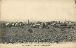 - Herault - Ref A460 - Paulhan - Vue Generale - - Paulhan