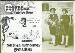 Revue  Carte Postale Et Collection  N:86 De 1982 - Français