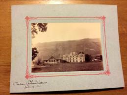 Vaulnavey ( Vaulnaveys ) - Chateau Chabaud Latour - Photographie Albumine Ancienne - Début 1900 - Photo - Frankrijk