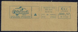 France EMA Empreinte Postmark Parc De Loisirs Thème Cigognes Cigoland Alsace Kintzheim - Marcophilie (Lettres)
