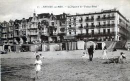 Knocke-sur-Mer. La Digue Et Le Palace-Hôtel - Knokke