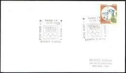 ATHLETICS - ITALIA FIRENZE 1996 - CORSA DELLA GIORNATA OLIMPICA - OLYMPIC DAY RUN - MAILED CARD - Zomer 1996: Atlanta