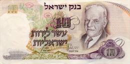 ISRAEL : 10 Lirot 1968 (xf+) - Israel