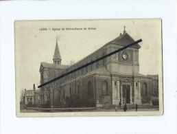Carte  -   Loos   - Eglise De Notre Dame De Grâce - Loos Les Lille