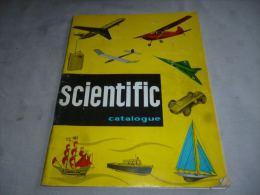 CB8 LC141 Catalogue Bilingue Modélisme Scientific Avion Bâteau Voilier Auto Moteurs Etc Revell Modelbouw - Catalogi