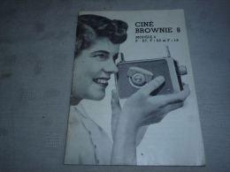 CB8 LC 141 Manuel D'utilisation 1956 Caméra Ciné Brownie 8 Modéle 2 F 2,7 2,3 1,9 - Vieux Papiers