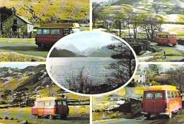"""BUS  AUTOBUS AUTOCAR MINIBUS """" ROYAL MAIL POST  BUS """" ( England - Royaume Uni ) CPSM PF 1980 Coatches Busen Touringcars - Autobús & Autocar"""