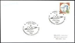 ITALIA ROMA 1996 - CONGRESSO NAZIONALE AICS - IL SESTO CERCHIO - OLYMPIC RINGS - CARD - Summer 1996: Atlanta