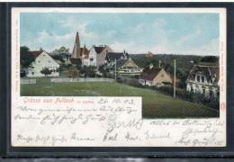 8023 GRÜSSE AUS PULLACH    ~  1900   LITHO   L. FRÄNZL & Co.  MÜNCHEN - Deutschland
