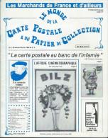 Revue  Le Monde De La Carte Postale & Du Papier De Collection  N: 6 1982 - Français