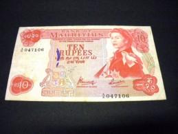 MAURICE 10 Rupees 1967, Pick N°31 C, MAURITIUS - Mauritius