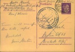 OSTLAND 1942, Ganzsachenkarte Ab KIEW Nach Berlin - Besetzungen 1938-45