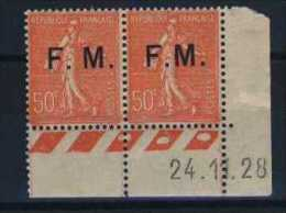 FRANCE   N°  6  -  6  C - Franchise Militaire (timbres)