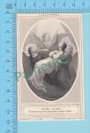 Image Pieuse Boumard (  L'alléluia Eternel) Holy Card Santini 2 Scans - Santini