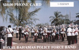 Bahamas, BHS-C-06c,Royal Police Force Band, 2 Scans.