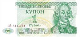 Transnistria - Pick 16 - 1 Ruble 1994 - Unc - Banconote