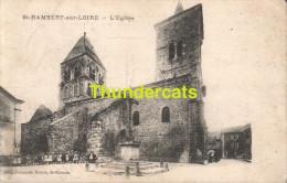 CPA 42  SAINT RAMBERT SUR LOIRE L'EGLISE - Saint Just Saint Rambert