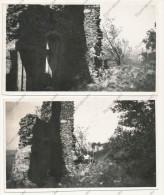 P73 - ST SORLIN EN BUGEY 1933 Famille Dans Des Ruines - 2 Photos Anciennes - Places