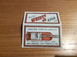 """Papier à Cigarettes """"Suze"""" (étuis Complet, Filigrane """"SUZE APÉRITIF"""" Sur Feuilles) - Ohne Zuordnung"""