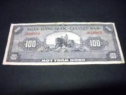 VIET- NAM DU SUD 100 Dong 1955, Pick N°8, SOUTH VIET NAM - Vietnam