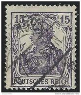 Deutsches  Reich          Michel    100                  O              Gebraucht - Gebruikt
