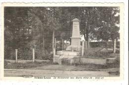 (Pers. S-L - 17-18 - ) Somme-Leuze - Monument Aux Morts 1914-1918 1940-45 - Somme-Leuze