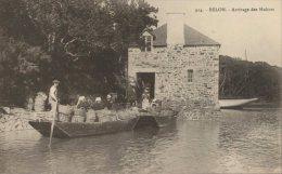 29 - CPA Bélon - Arrivage Des Huitres - France