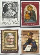 Italia 2014, Ecclesiastici: Papa Ormisda, S. Camillo, Pio X, M. Martini (o) - 6. 1946-.. Repubblica