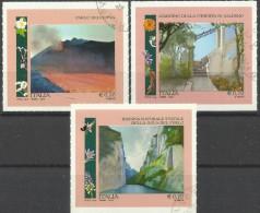 Italia 2014, Orti E Giardini (o), Serie Completa - 6. 1946-.. Repubblica