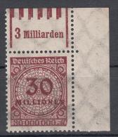 Deutsches Reich - Mi. 320a W OR ** - Neufs