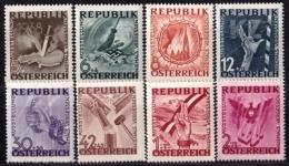 ÖSTERREICH Mi. Nr. 776-783 ** (A-1-25) - 1945-.... 2. Republik