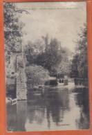 Carte Postale 91. Brunoy Le Barrage Du Moulin De Rocopt   Trés Beau Plan - Brunoy