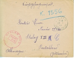 GERMANY  COVER  POW  STALAG  XIII C - Covers & Documents