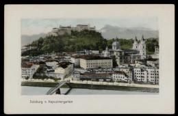 [002] Salzburg Vom Kapuzienergarten, Um 1910, Verlag Saffer (Salzburg) - Salzburg Stadt