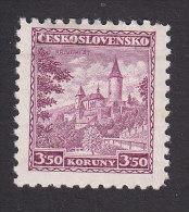 Czechoslovakia, Scott #184, Mint Hinged, Krivoklat Castle, Issued 1932 - Unused Stamps