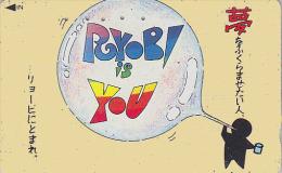 Télécarte Japon - Jeu - Ballon - Balloon Japan Phonecard - 228 - Jeux