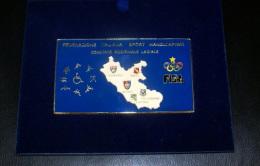 ITALIA - TARGA DELLA FISH FEDERAZIONE ITALIANA SPORT HANDICAPPATI - Giochi Olimpici