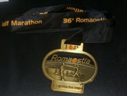 ITALIA - MEDAGLIA BRONZO DELLA MARATONA DI ROMA - OSTIA 2010 - Atletica