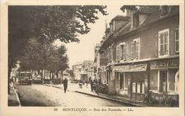"/ CPA FRANCE 03 ""Montluçon, Rue Des Nicauds"" - Montlucon"