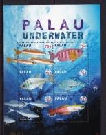 Palau (Sc# 972), MNH, (Sheet Of 6 ), Fish Underwater, 2009 - Palau