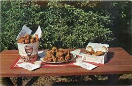 201461-Advertising Postcard, Kentucky Fried Chicken, KFC Promo, M Cee Bishop No 40,731F - Advertising