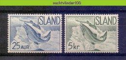 Naa2110 FAUNA VISSEN FISH FISCHE POISSONS MARINE LIFE IJSLAND ISLAND 1959 PF/MNH # - Peces