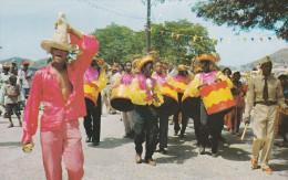 AMERIQUE---ANTILLES--VIERGES--roas´-a-time-bam-bou-shay´´ Carnival Time In St. Thomas---voir 2 Scans - Vierges (Iles), Amér.