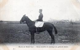 CHEVAUX -  St.Cyr -Sous Maitre De Manège - Chevaux